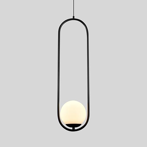 Capri Black LED Mini Pendant