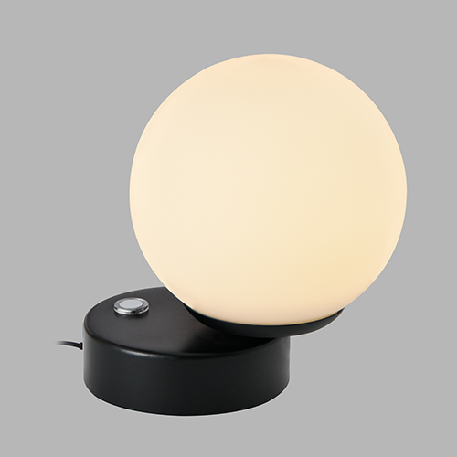 Capri Black LED Table Lamp