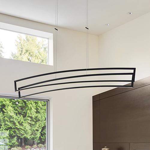 Sirius Black LED Linear Pendant
