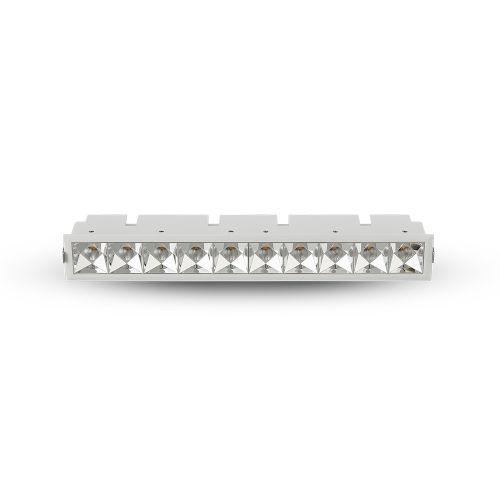 Rubik White 10-Light LED Recessed Downlight