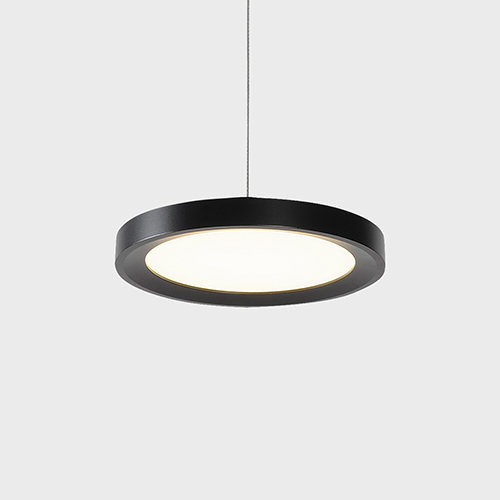 Salm Black LED Mini Pendant