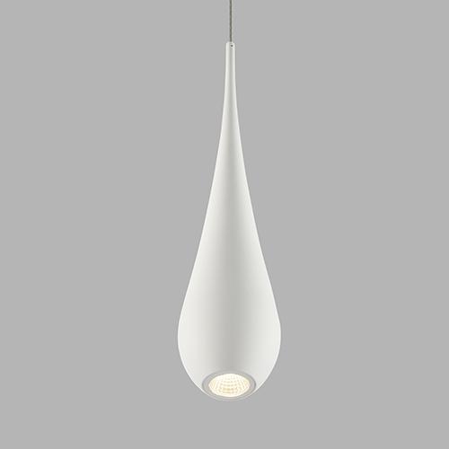 Polaris White LED Mini Pendant