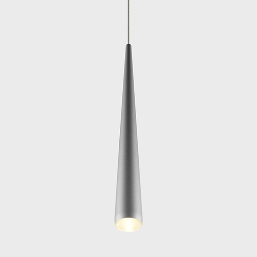 Polaris Silver LED Mini Pendant