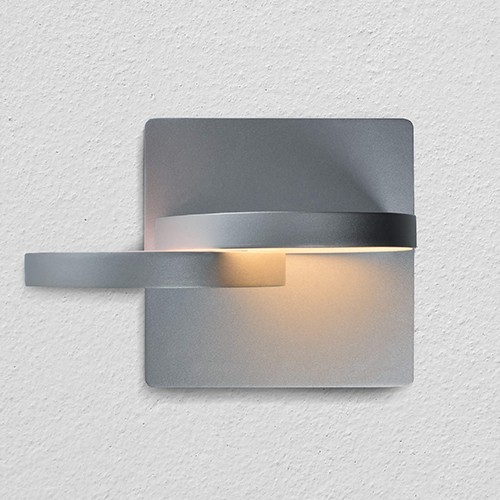 Eclipse Silver LED Wall Sconce