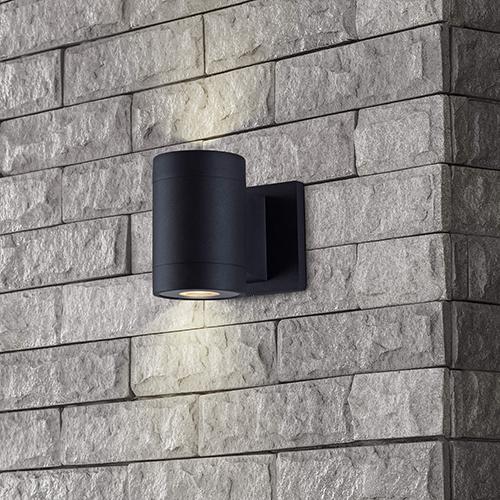 Matt Black LED 10 Watt Outdoor Wall Sconce