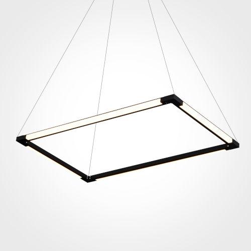 Atria Black 17-Inch LED Chandelier Title 24