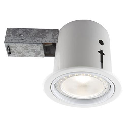 BAZZ 410 LED White Recessed Lighting Kit, Set of Four