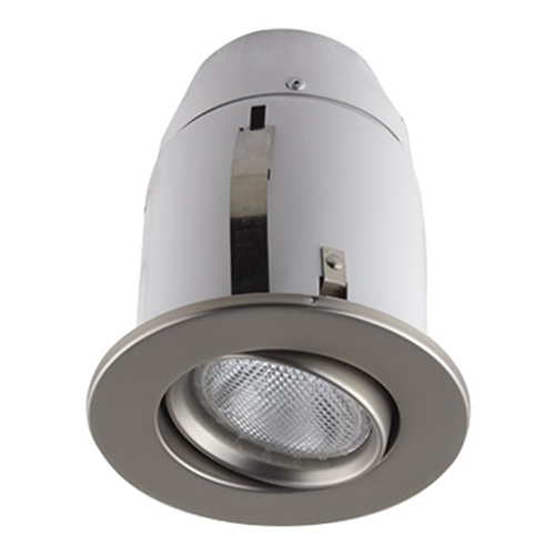Serie 900 Satin One-Light Recessed Halogen Lighting Kit