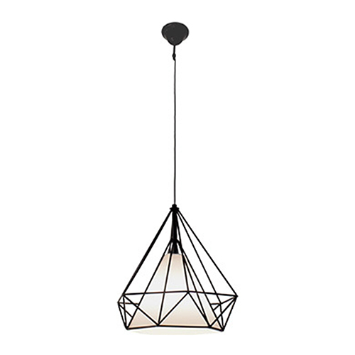 Vesta Black One-Light Pendant