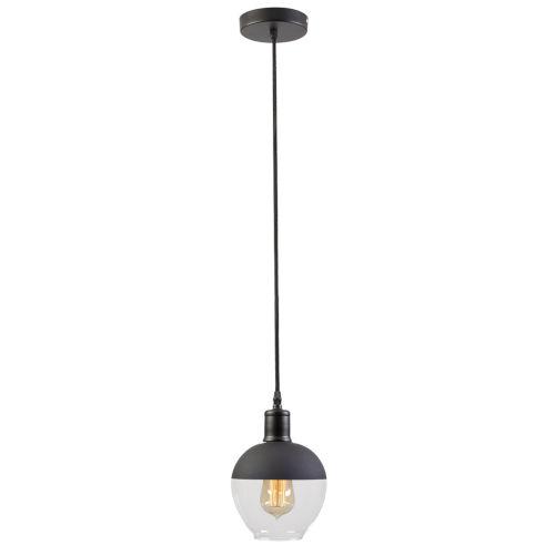 VESTA Black Vintage Single LED Pendant