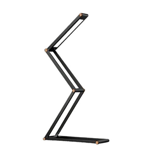 Dark Gray Foldable Integrated LED Wireless Table Lamp