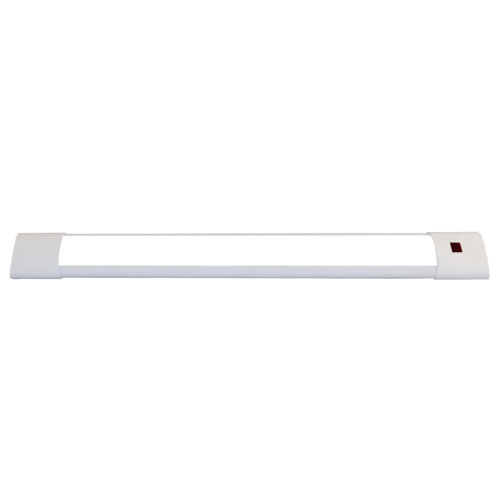 White 18 inch Selectable Motion Sensor Integrated LED Under Cabinet Light