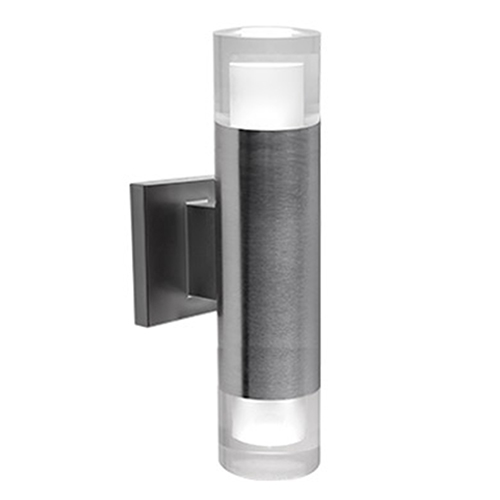 Luvia Stainless Steel LED Wall Sconce
