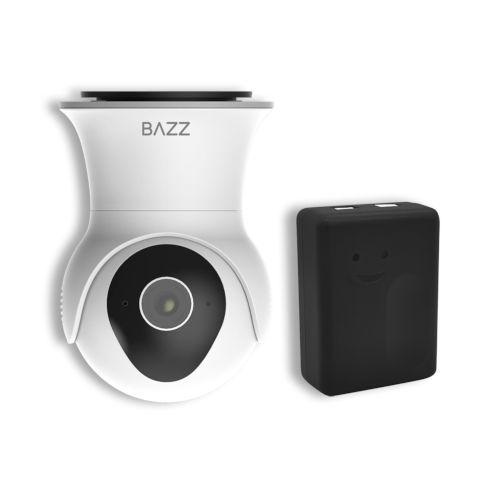 Black and White Smart Wi-Fi Garage Security Kit