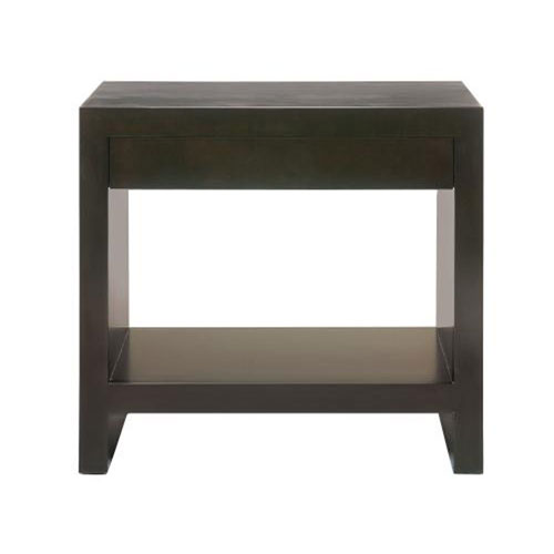 Interiors Obsidian Cherry Veneers Nightstand