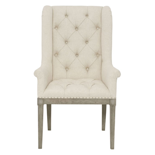 Marquesa Gray Cashmere Wood and Fabric 27-Inch Dining Chair