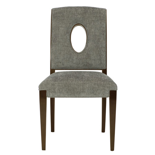Miramont Dark Sable Wood and Fabric 21-Inch Dining Chair