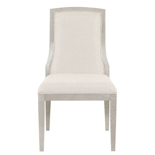 Criteria Heather Gray Wood and Fabric 22-Inch Dining Chair