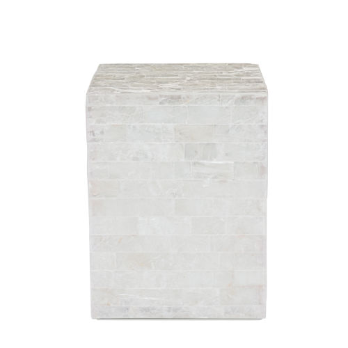 Levine Ivory Chairside Table