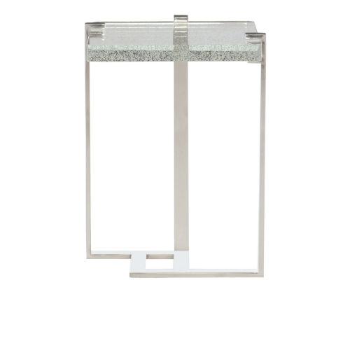 Mott Chrome End Table