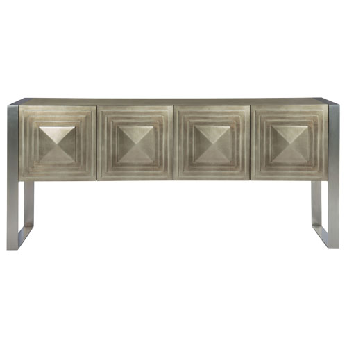 Mosaic Warm Graphite and Blackened Bronze 82-Inch Sideboard