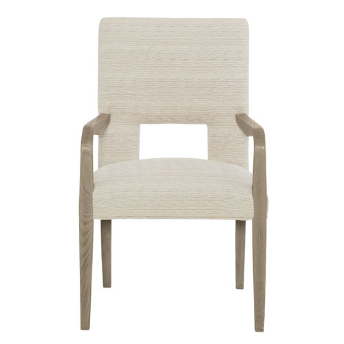 Mosaic Dark Taupe Ash Solids and Fabric 23-Inch Dining Chair