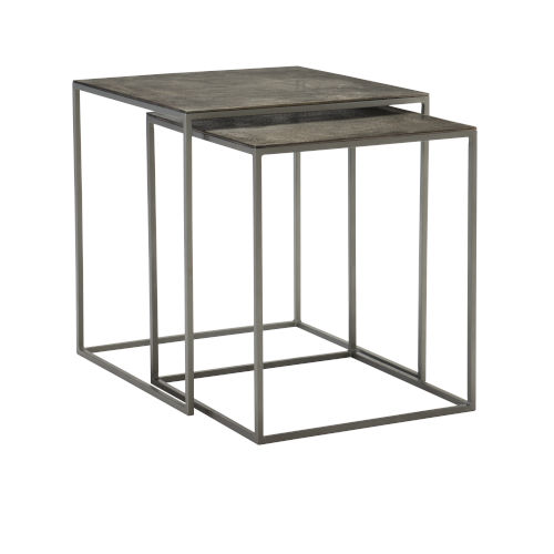 Eaton Black Nesting Tables, Set of 2