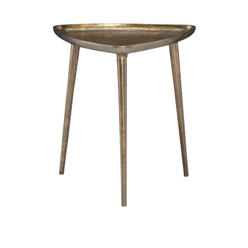 Buckley Antique Brass End Table