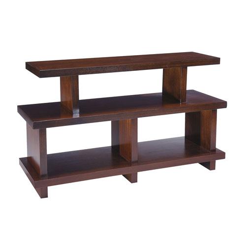 Park West Auburn Mahogany Veneers Console Table