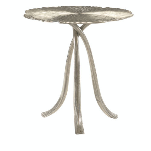 Annabella Satin Nickel End Table