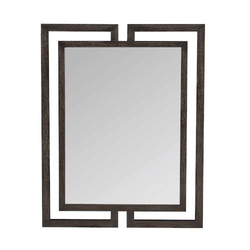 Decorage Cerused Mink 38-Inch Mirror