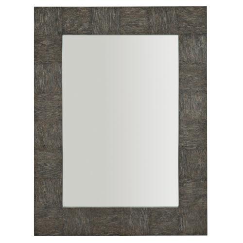 Linea Black Rectangle 38 x 50 Inches Mirror