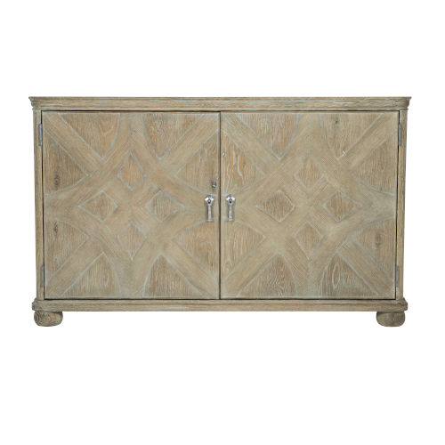 Rustic Patina Sand 56-Inch Chest