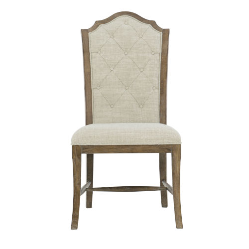 Rustic Patina Peppercorn Dining Side Chair