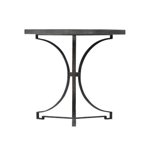 Bronze Canyon Ridge Round Metal Side Table