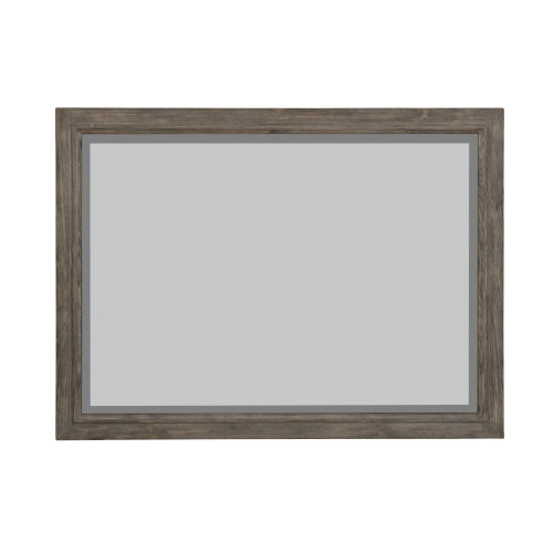Taupe Canyon Ridge Mirror