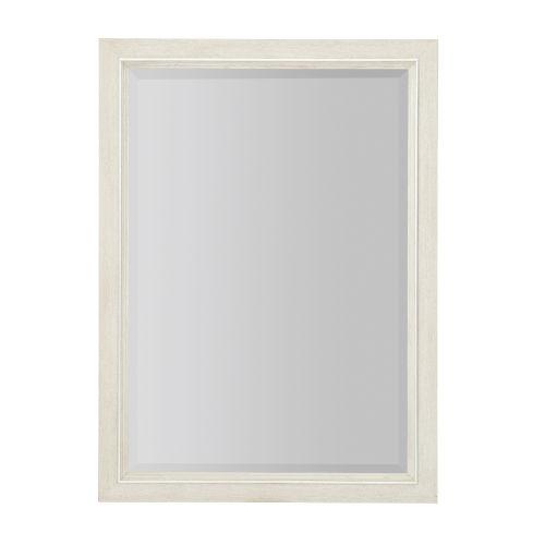 Allure Manor White 52 x 38 Inches Mirror