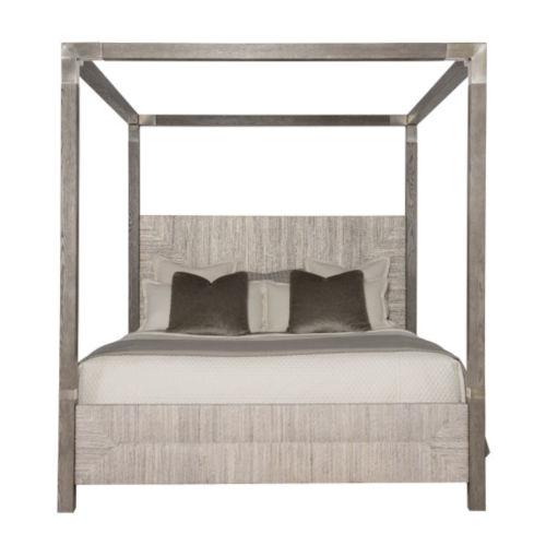 California Gray King Bed