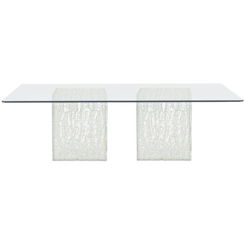 Arctic Clear 100-Inch Dining Table