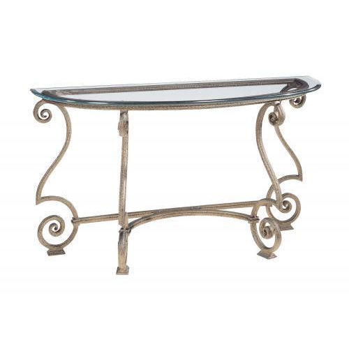 Solano Aged Bronze Console Table