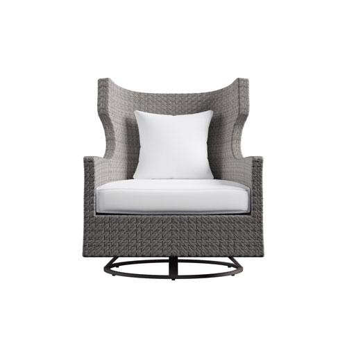 Exteriors Bronze Captiva Swivel Chair
