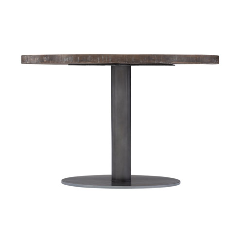 Exteriors Gray Marisol Round Cocktail Table