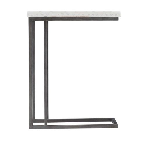 Exteriors Gray Sausalito Side Table