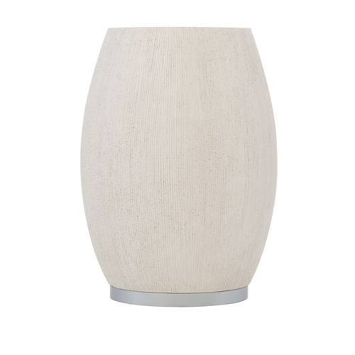 Exteriors White Anson Side Table