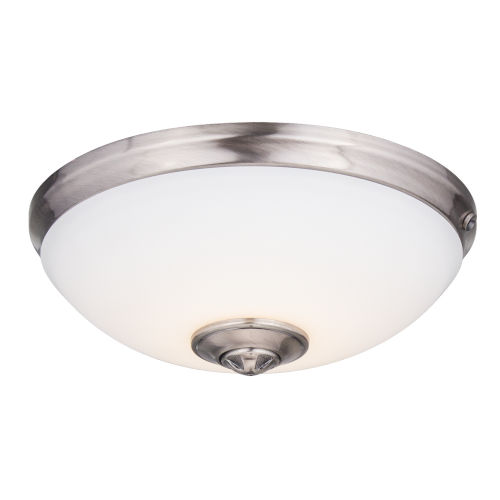 Nickel LED Ceiling Fan Light Kit