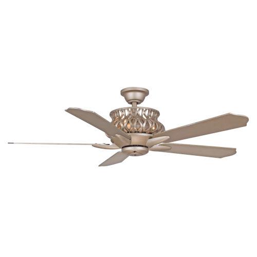 Estela Iced Gold 52-Inch Four-Light LED Ceiling Fan