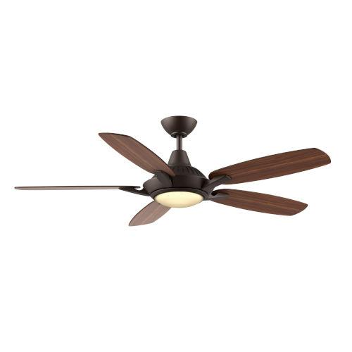 Solero Oil Rubbed Bronze 52-Inch LED Ceiling Fan