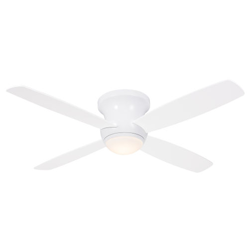 Zorion White 52-Inch LED Ceiling Fan