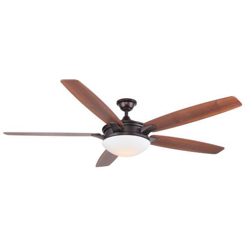 Novato Oil Rubbed Bronze 70-Inch LED Ceiling Fan