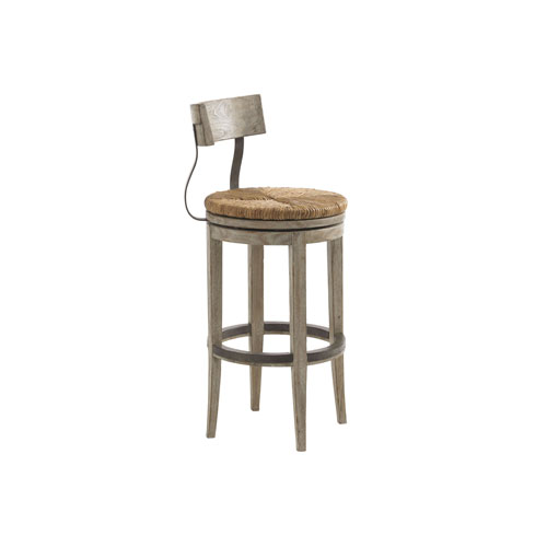 Twilight Bay Driftwood Dalton Bar Stool